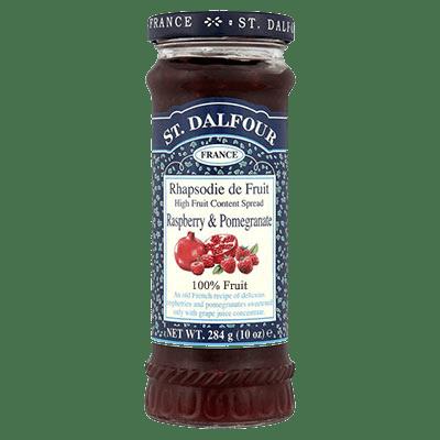 St Dalfour Raspberry & Pomegranate Fruit Spread 284g