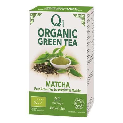 Qi Organic White & Spicy Tea 25 Bags