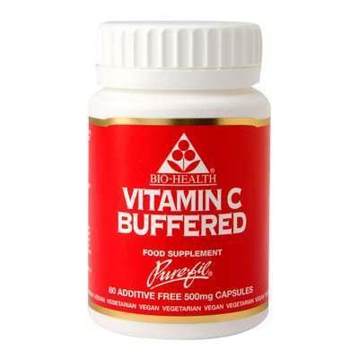 Bio Health Vitamin C Buffered 500mg 60 Capsules