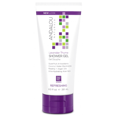 Andalou Naturals Lavender Thyme Refreshing Shower Gel 251ml
