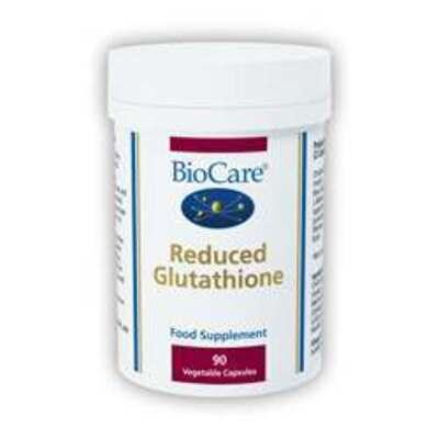 BioCare Reduced Glutathione 90 Capsules