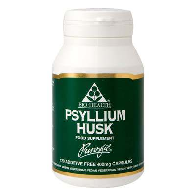 Bio Health Psyllium Husk 120 Capsules