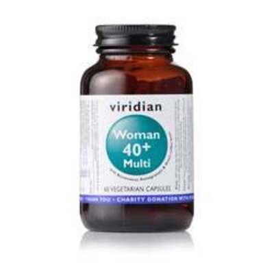 Viridian Woman 40+ Multi 60 Capsules