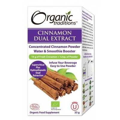 Organic Traditions Full Spectrum Cinnamon Powder 33g