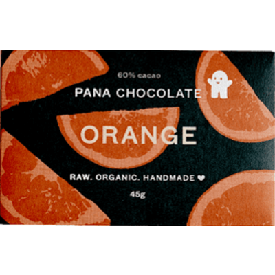 Pana Chocolate Raw Organic Orange Chocolate 45g