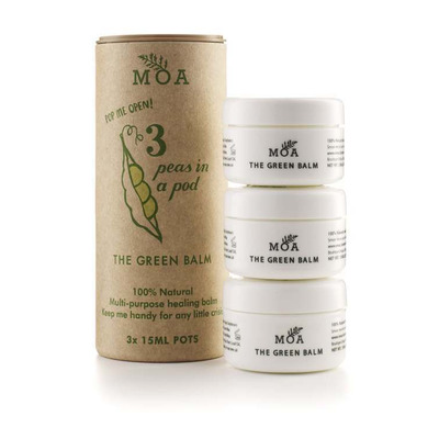 MOA The Green Balm 3 Peas in a Pod - 3 x 15ml