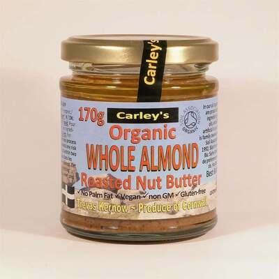 Carley's Organic Almond Butter 170g