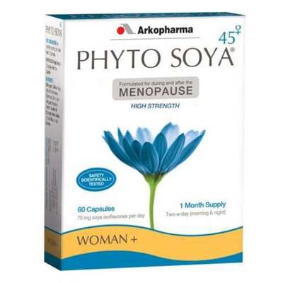 Arkopharma Phyto Soya For Menopause High Strength 60 Capsules