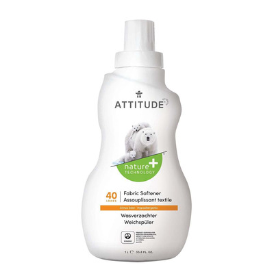 Attitude Citrus Zest Fabric Softener 1 Litre