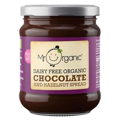 Mr Organic Dairy Free Chocolate & Hazelnut Spread 200g
