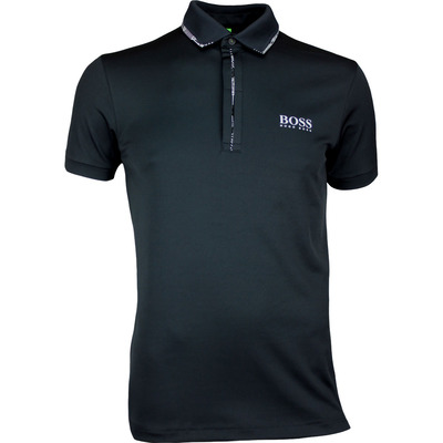 Hugo Boss Golf Shirt Paule Pro 2 Black PF17