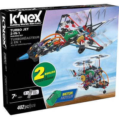 Knex Turbo Jet 2 In 1 Building Set