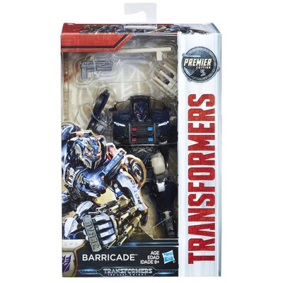 Transformers: The Last Knight Premier Edition Deluxe Class Barricade Figure