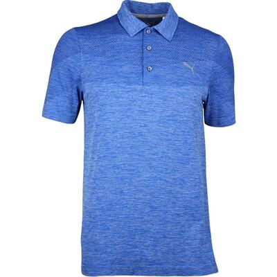 Puma Golf Shirt Evoknit Seamless Lapis Blue AW17
