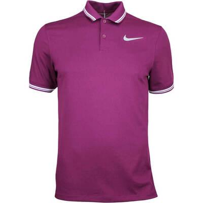 Nike Golf Shirt NK Dry Tipped Bordeaux AW17