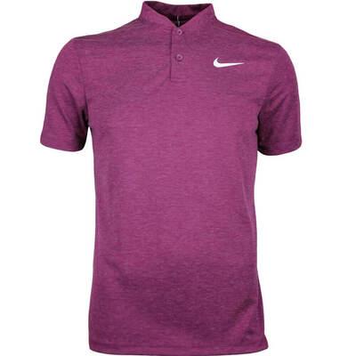 Nike Golf Shirt NK Dry Ultra 2 Blade Bordeaux AW17