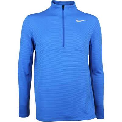 Nike Golf Pullover Aeroreact Half Zip Blue Jay AW17