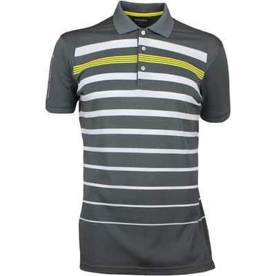Galvin Green Golf Shirt MAX Ventil8 Plus Iron Grey AW17