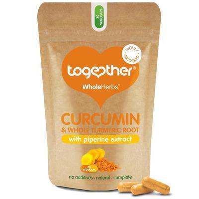 Together WholeHerbs Curcumin & Turmeric 30 Capsules