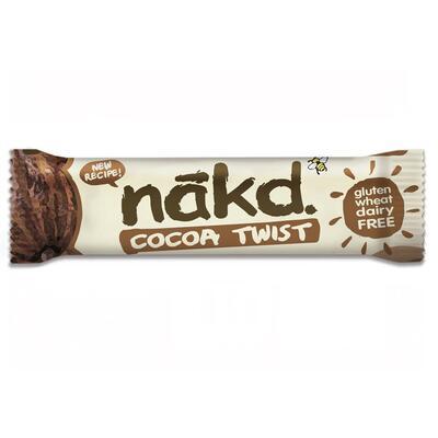 Nakd Cocoa Twist 30g Bar - Pack of 18
