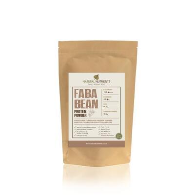 Natural Nutrients Faba Bean Protein Powder Chocolate 40g