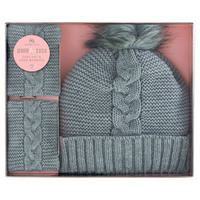 Aroma-Home-Cosy-Hat-and-Hand-Warmers-Grey