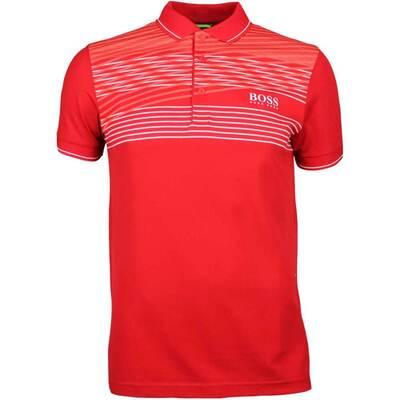 Hugo Boss Golf Shirt Paddy Pro 1 Barbados Cherry PS18