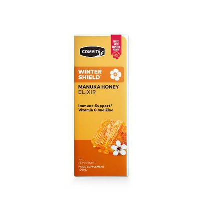Comvita Winter Shield Manuka Honey Elixir with Vitamin C & Zinc 100ml