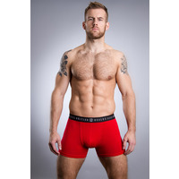 Image of British Boxers Fire Engine Red Stretch Trunk