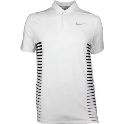 Nike Golf Shirt NK Dry Print White SS18