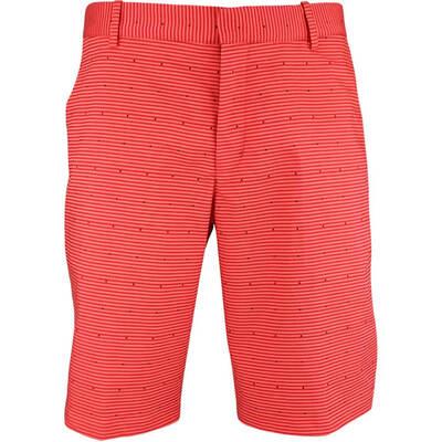 Nike Golf Shorts NK Flex Slim Micro Dot Rush Coral SS18