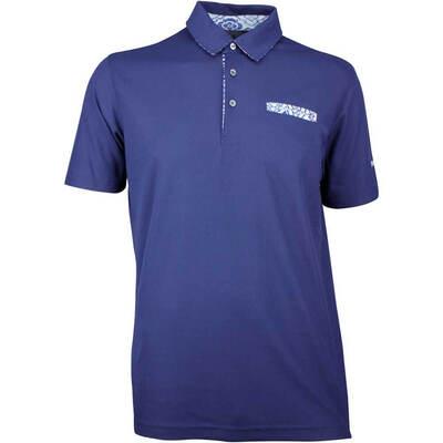 Puma Golf Shirt Aloha Polo Peacoat SS18