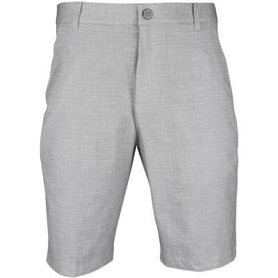 Puma Golf Shorts PWRCOOL Mesh Plaid Bright White SS18