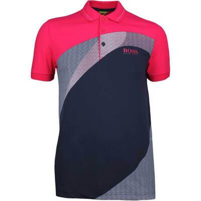 Hugo Boss Golf Shirt Paddy Pro 3 Virtual Pink SP18
