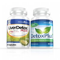 Image of Liver Detox Plus Capsules & DetoxPlus Combo - 1 Month Supply