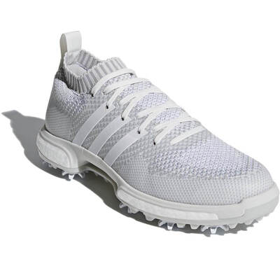 Adidas Golf Shoes Tour360 Knit Boost White Grey 2018