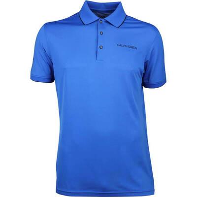 Galvin Green Golf Shirt MARTY Tour Kings Blue SS18