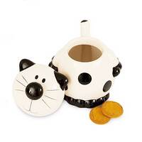 Image of 2Kewt Novelty Cat Ceramic Cookie Jar