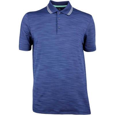 Adidas Golf Shirt Ultimate 365 Texture Polo Collegiate Navy AW18