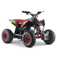 Image of FunBikes T-Max Roughrider 1000w Electric Red Kids Quad Bike