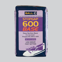F Ball Stopgap 600 Base Deep Section Compound 25kg