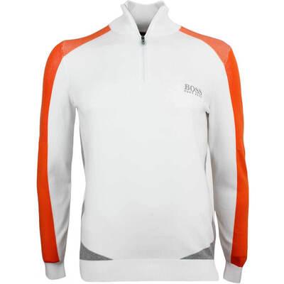 Hugo Boss Golf Jumper Zelchior Pro Training White PF18