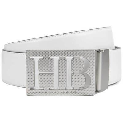 Hugo Boss Golf Belt Balwi Reversible White Black 2018