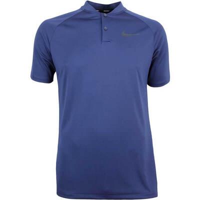 Nike Golf Shirt NK Dry Momentum Slim College Navy SS18