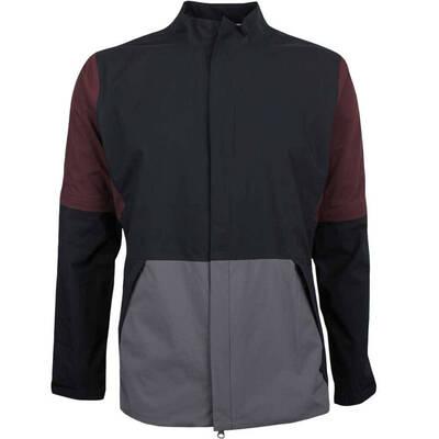 Nike Golf Jacket Hypershield Convertible FZ Burgundy Crush AW18