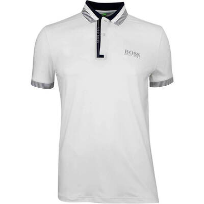 Hugo Boss Golf Shirt Paddy Pro 1 Training White FA18
