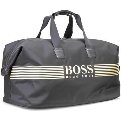 Hugo Boss Travel Bag Pixel Holdall Black FA18