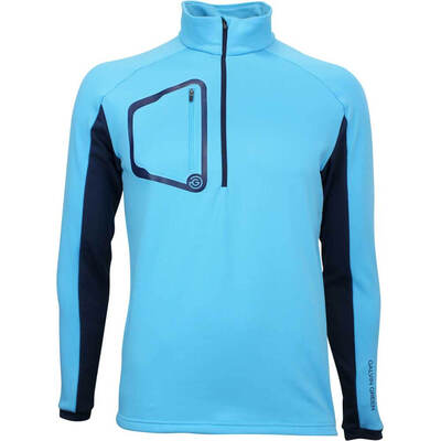 Galvin Green Golf Pullover Diego Insula River Blue AW18