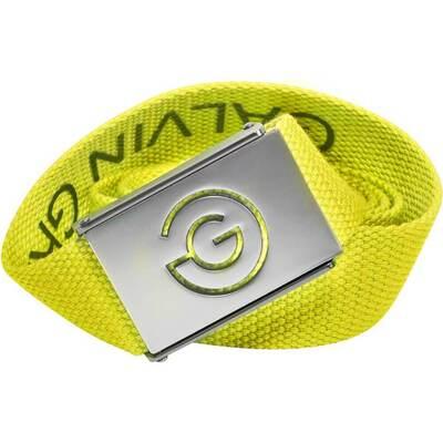 Galvin Green Golf Belt Wade Reversible Web Lemonade AW18