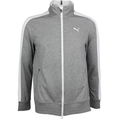 Puma Golf Jacket T7 Heritage Medium Grey LE AW18